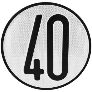 señales v4 40km/h